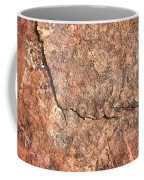 Nature Abstract - Cracked Coffee Mug