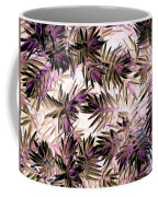 Nature Abstract In Pink And Brown Coffee Mug