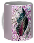 Nature Abstract Of Leaf And Grass Coffee Mug