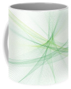 Nature Computer Graphic Line Pattern Coffee Mug