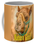 Nature Girl Camel Coffee Mug