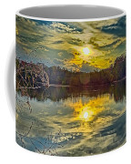 Nature Landscapes Around Lake Wylie South Carolina Coffee Mug