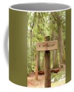 Nature Loop Sign Coffee Mug