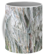 Natures Drapery At Okefenokee Swamp Coffee Mug