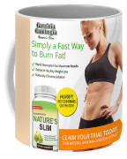 Natures Slim Garcinia Coffee Mug