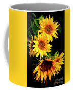 Natures Sunflower Bouquet Coffee Mug