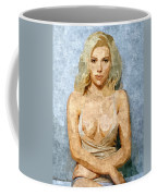 Naughty Scarlett Nude Coffee Mug