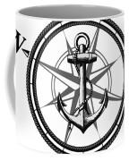 Nautica Bw Coffee Mug