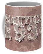 Nautical 1934 Coffee Mug