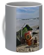 Nautical Collection Found On The Beach Coffee Mug