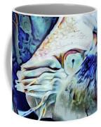 Nautilus Blue Coffee Mug