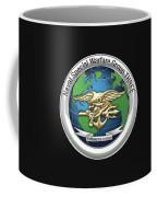 Naval Special Warfare Group Three - Nswg-3 - On Black Coffee Mug
