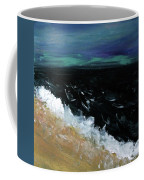 Navy Blue Ocean Coffee Mug