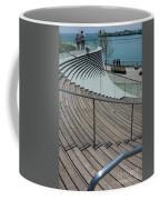Navy Pier Stairs Coffee Mug