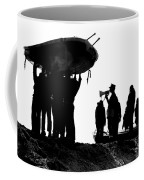 Navy Seals Hold An Inflatable Boat Coffee Mug