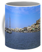 Naxos Greece Harbor Coffee Mug