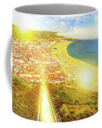 Nazare Skyline Sunset Coffee Mug
