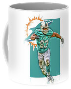 Ndamukong Suh Miami Dolphins Oil Art Coffee Mug