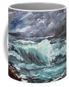 New England Coastline Coffee Mug