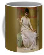 Neaera Reading A Letter From Catullus Coffee Mug by Henry John Hudson