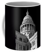 Near Infrared Image Of The Texas State Capitol Coffee Mug