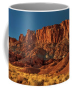 Near The Fluted Wall In Capitol Reef National Park Utah Coffee Mug
