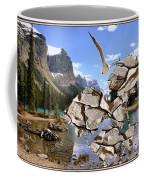 Near The Lake In The Mountain 2 Coffee Mug