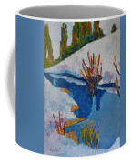 Near The Lake Coffee Mug