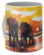 Near The Sigiriya Coffee Mug