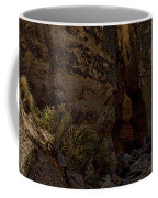 Nearing The Slot Canyon - Tent Rocks Coffee Mug
