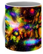 Nebula Collision Course Coffee Mug