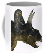 Nedoceratops Dinosaur Head Coffee Mug