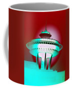 Needle In Red Coffee Mug