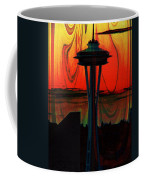 Needle Silhouette 2 Coffee Mug