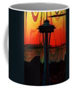 Needle Silhouette 3 Coffee Mug