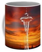 Needle Silhouette Coffee Mug