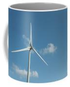 Neeltje Jans Oosterscheldekering Zeeland The Netherlands.  Wind Turbines Coffee Mug