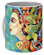 Nefertiti Sea Journey Coffee Mug