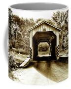 Neff's Mill Covered Bridge - Lancaster County Pa. Coffee Mug