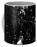 Negative K Mesons, Bubble Chamber Event Coffee Mug