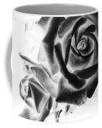 Negative Roses Coffee Mug