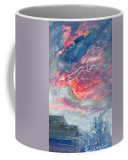 Neighborhood Sunset Coffee Mug