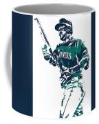 Nelson Cruz Seattle Mariners Pixel Art 5 Coffee Mug