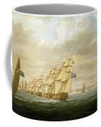Nelson's Inshore Blockading Squadron At Cadiz, July 1797 Coffee Mug