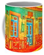 neon Cafe Coffee Mug