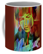 Neon Color Bob Dylan Coffee Mug