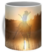Neon Cowboy Coffee Mug