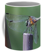 Neon Dragonfly Coffee Mug
