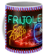 Neon Frijoles And Peppers And Gas Coffee Mug