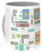Neon Geometrics 2 Coffee Mug